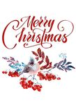 Hand drawing watercolor christmas greeting card. Hand drawing watercolor beautiful christmas greeting card stock image