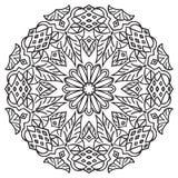 Hand drawing zentangle element. Stock Photos