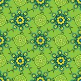 Hand drawing zentangle manala color seamless pattern. Hand drawing zentangle color seamless pattern Flower mandala. Vector illustration. Best for your design Stock Photo