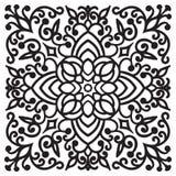 Hand drawing zentangle mandala element Royalty Free Stock Photography