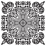 Hand drawing zentangle mandala element Royalty Free Stock Photos