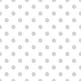 Hand-drawn άνευ ραφής σχέδιο σημείων Πόλκα Στοκ Εικόνες