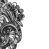 Hand-drawn αναδρομικό σχέδιο κυμάτων, κυματιστό Στοκ εικόνες με δικαίωμα ελεύθερης χρήσης