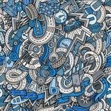 Hand-drawn περιγραμματικά doodles κινούμενων σχεδίων στο θέμα Στοκ εικόνες με δικαίωμα ελεύθερης χρήσης