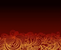 Hand drawn abstract background. A hand drawn abstract background Royalty Free Stock Photography