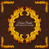 Hand drawn abstract background ornament Royalty Free Stock Photo