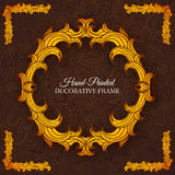 Hand drawn abstract background ornament Royalty Free Stock Image