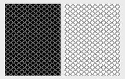 Hand Drawn Abstract Floral Lace Vector Illustartions. Cute Patterns Set. royalty free illustration