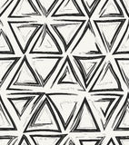 Hand drawn abstract geometric background Royalty Free Stock Image