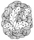 Hand drawn abstract illustration Royalty Free Stock Images