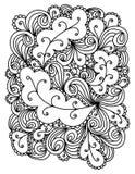 Hand drawn abstract illustration Stock Photo