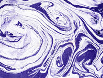 Hand drawn abstract marble texture. Handmade with liquid paint. stock illustration