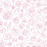 Hand drawn abstract pattern. Vector seamless background. Royalty Free Stock Images