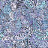 Hand-drawn abstract seamless pattern Stock Photos
