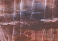 Brown abstract watercolor background. Hand-drawn abstract watercolor texture. Used contrasting and transient colors Royalty Free Stock Images