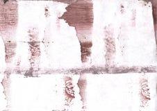 Brown smoke clouded wash drawing design Royalty Free Stock Image