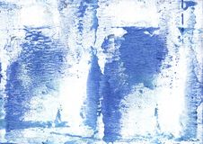 Corn flower blue colored wash drawing paper Stock Photography