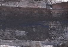 Dark slate gray abstract watercolor painting Royalty Free Stock Photos