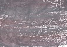 Gray nebulous aquarelle texture. Hand-drawn abstract watercolor texture. Used contrasting and transient colors Royalty Free Stock Image