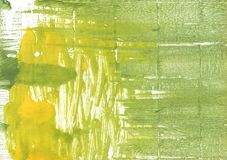 Green yellow colored wash drawing illustration vector illustration
