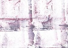 Purple lilac nebulous wash drawing picture. Hand-drawn abstract watercolor texture. Used contrasting and transient colors Stock Photography