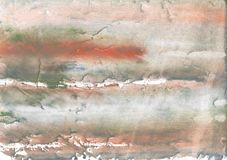Silver stained watercolor paper Stock Image