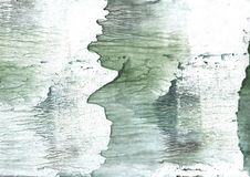 Silvery green watercolor background Royalty Free Stock Photos