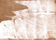 Tan blurred watercolor paper Royalty Free Stock Photo