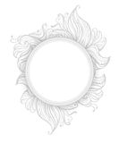 Hand drawn abstraction flowers Royalty Free Stock Photography