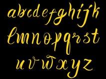 Hand drawn alphabet Royalty Free Stock Image