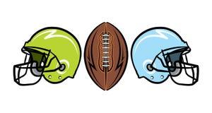 Hand Drawn American Football Illustration Royalty Free Stock Image