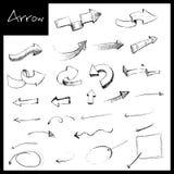 Hand Drawn Arrow Stock Photos