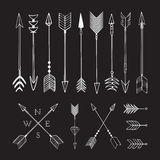 Hand drawn arrows. Royalty Free Stock Photos