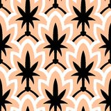 Hand drawn art deco pattern Stock Images
