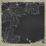 Hand Drawn Autumn Background Stock Photography