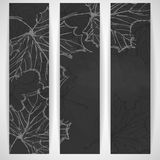 Hand Drawn Autumn Background Royalty Free Stock Image