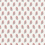 Hand drawn autumn seamless pattern made of berries. Wrapping paper. Abstract vector background. Floral illustration. Graphic style. Fall print. Doodle art Stock Image