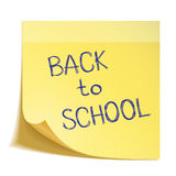 Hand drawn Back to School sketch Royalty Free Stock Photo