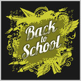 Hand-drawn back to school sketchy Stock Photography