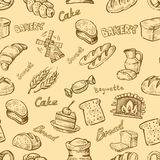 Hand drawn bakery Stock Photo