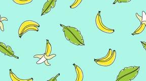 Hand drawn bananas Stock Photos