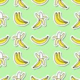 Hand drawn bananas Royalty Free Stock Images