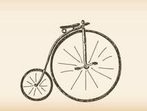 Hand drawn bicycle Royalty Free Stock Image