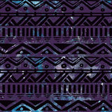 Hand Drawn Black Aztec Tribal Seamless Background Royalty Free Stock Photos