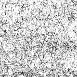 Hand-Drawn Black Permanent Marker Abstract Background. Royalty Free Stock Images
