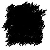 Hand-Drawn Black Permanent Marker Abstract Background. Royalty Free Stock Photos