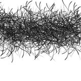 Hand-Drawn Black Permanent Marker Abstract Background. Stock Images