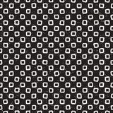 Hand drawn black and white ink abstract seamless pattern. Vector stylish texture. Monochrome geometric shappes paint brush lines Royalty Free Stock Photo