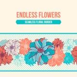 Hand-drawn bloemen van dahlia royalty-vrije illustratie