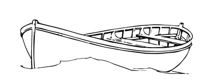 Hand Drawn Boat /Eps Stock Photos